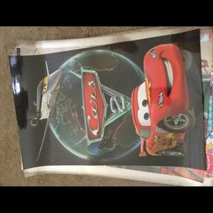 Posters and cars $8.00 of each
